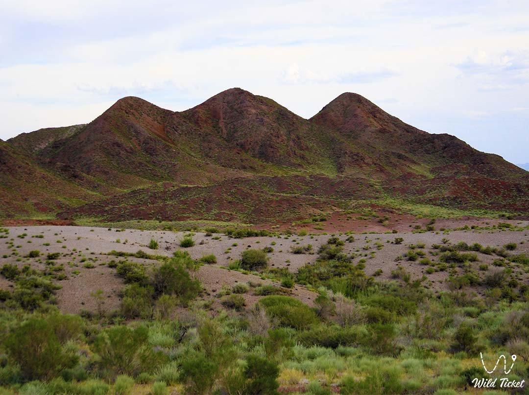 Altynemel mountain range.