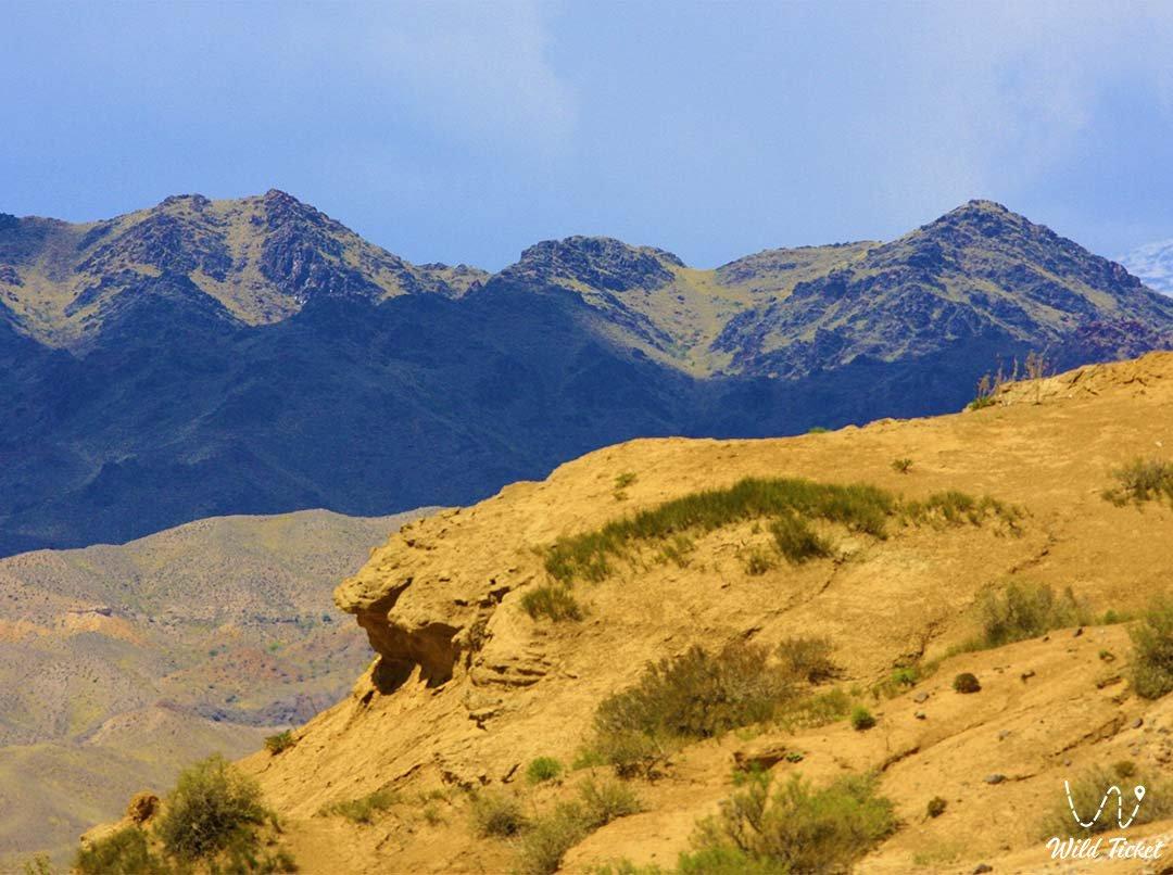 Ulken-Kalkan mountains in the Altyn-Emel nature reserve.