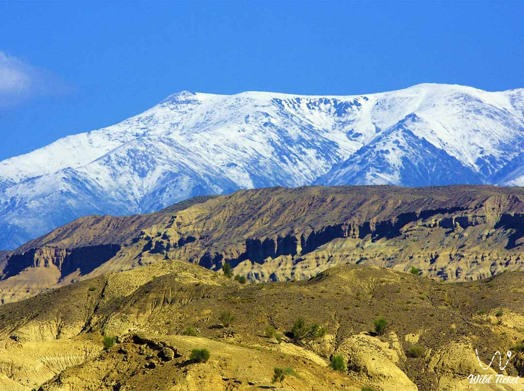 Sholak mountains in the Altyn-Emel nature reserve