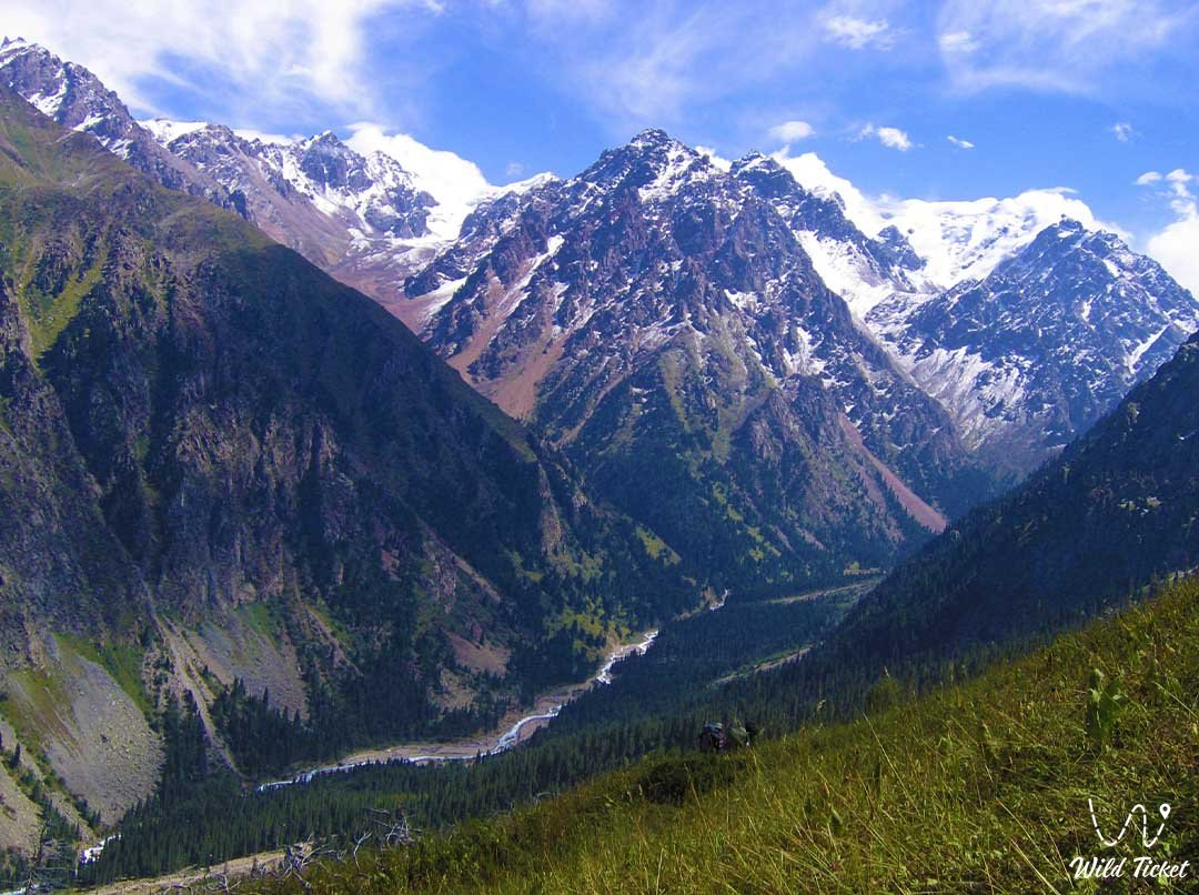 Valley of the Talgar River, Almaty Nature Reserve.