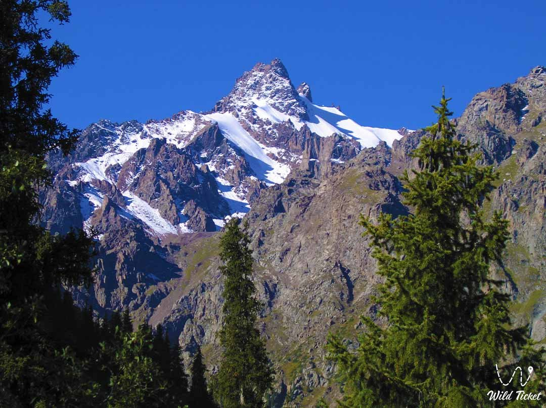 Talgar gorge and its sights, Almaty reserve.