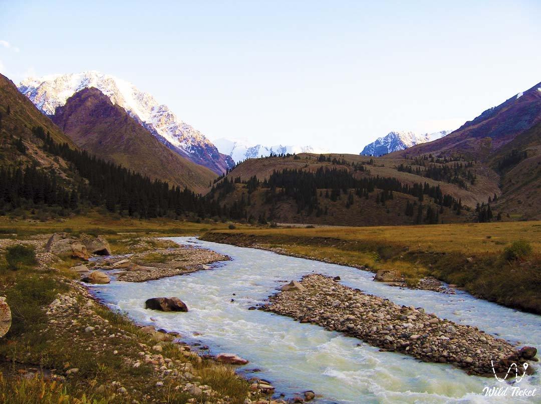 Talgar (river), Almaty nature reserve.