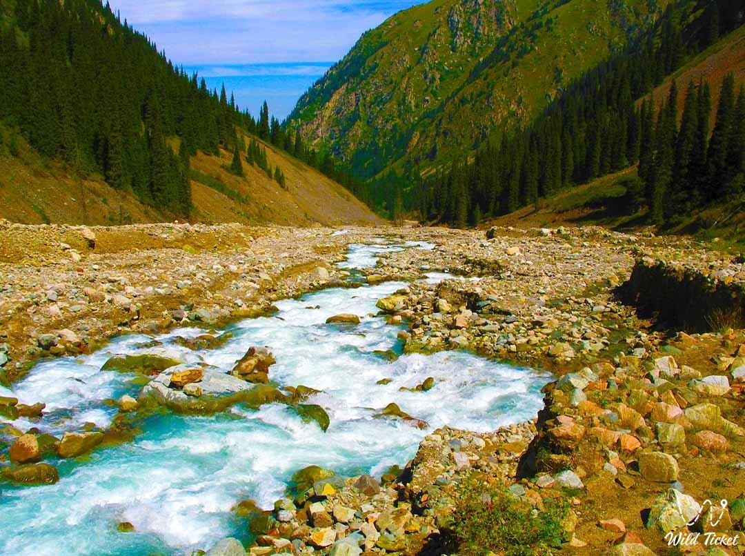 Right Talgar river.