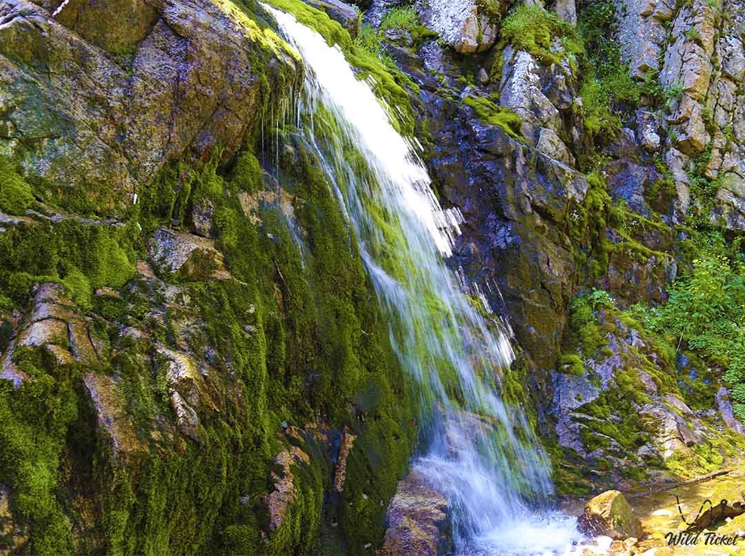 Gorelnik, river, waterfall and mountain gorge.