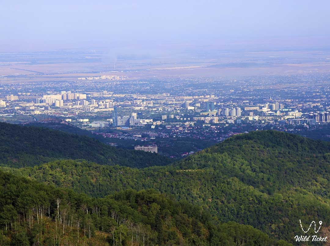 Kok Zhailau, a mountain tract for active recreation.
