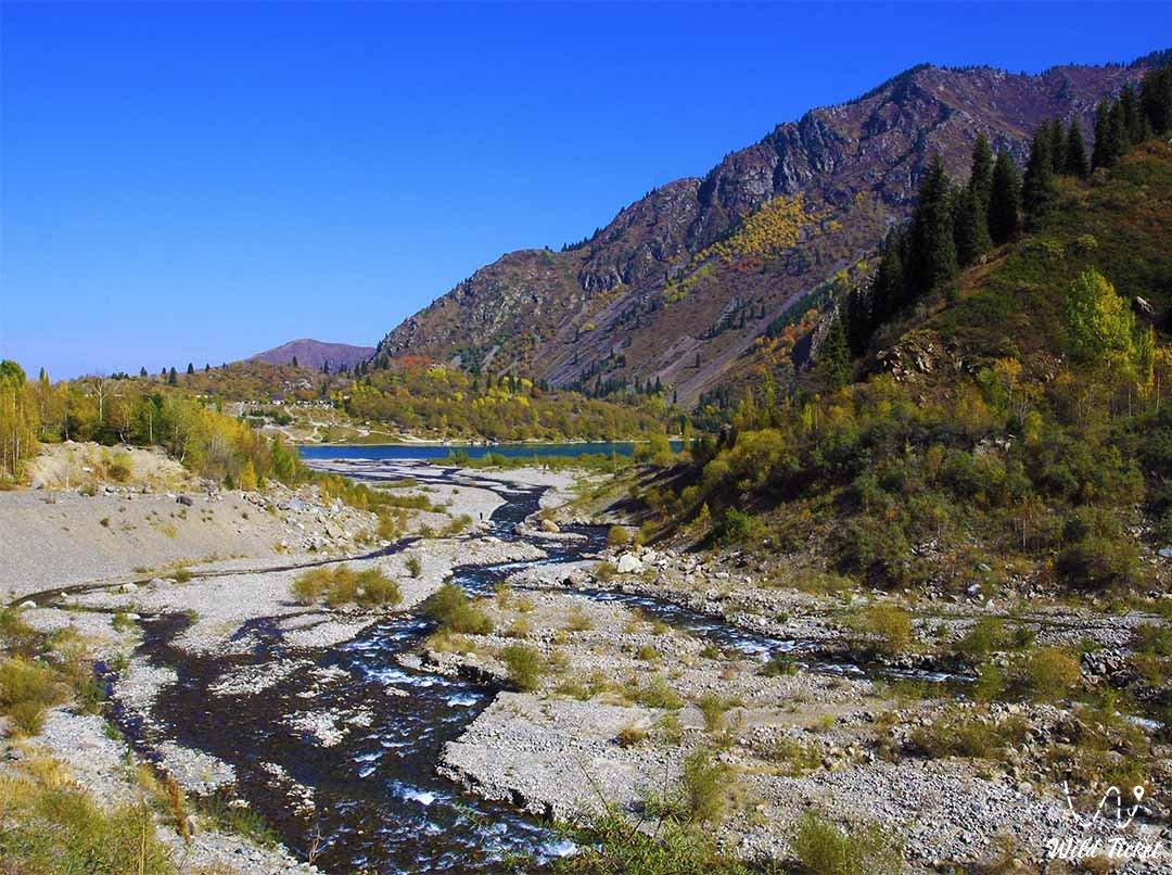 Issyk river.