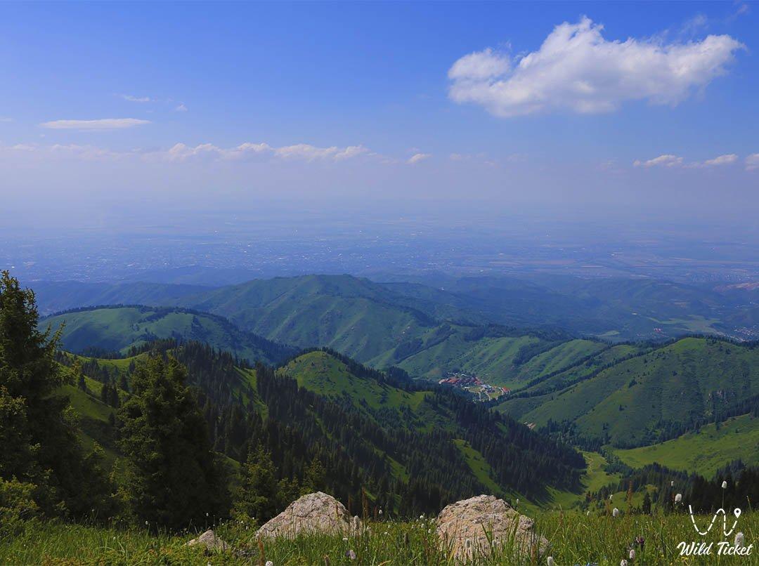 Mountain Panorama in the Kimasar gorge.