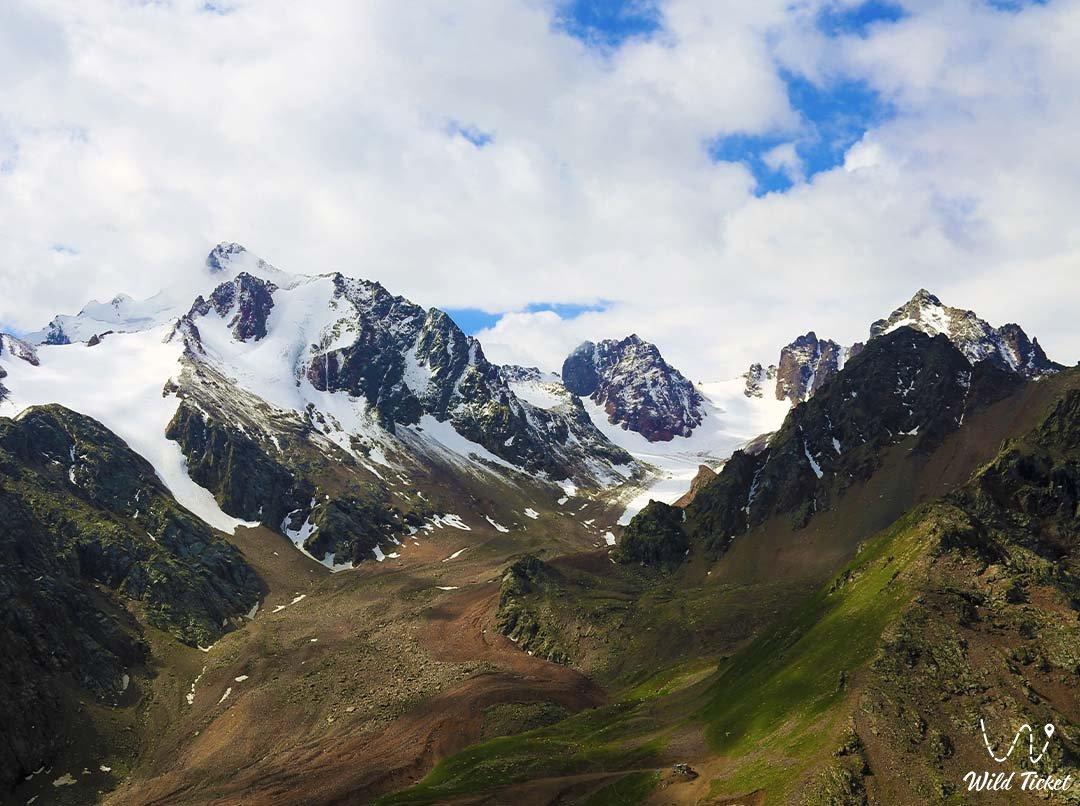 Shkolnik mountain peak.