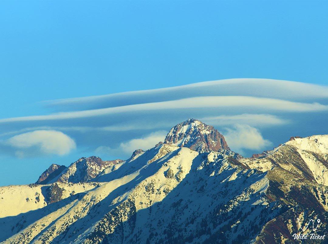 Mayakovsky Peak in Kazakhstan.