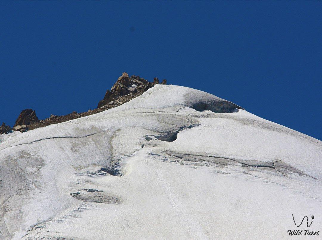 Aktau mountain peak