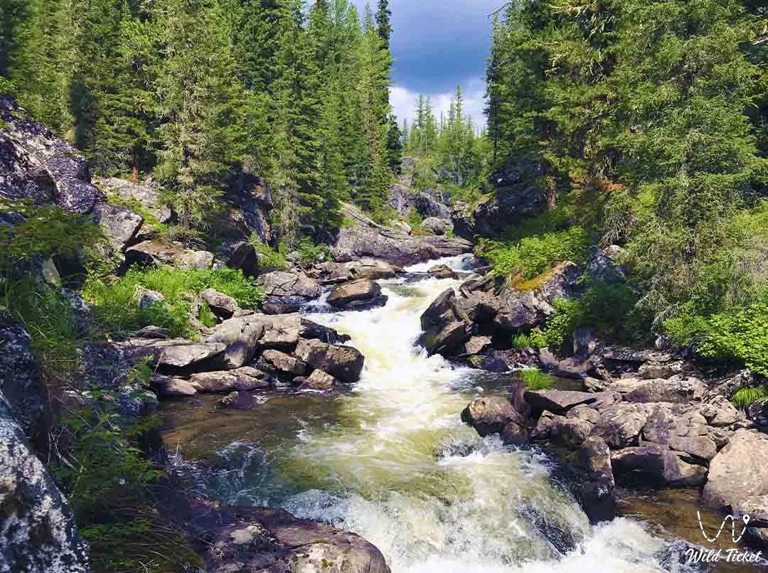 Yazevaya River.