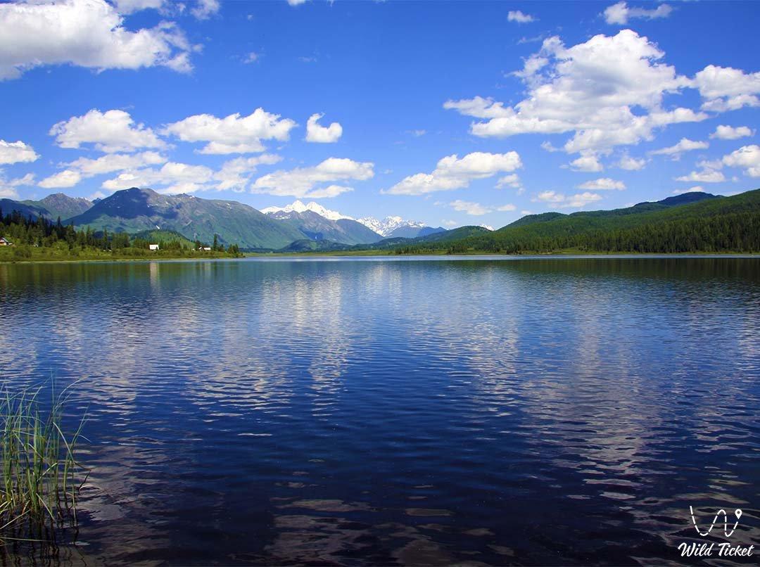 Lake Yazevoe.