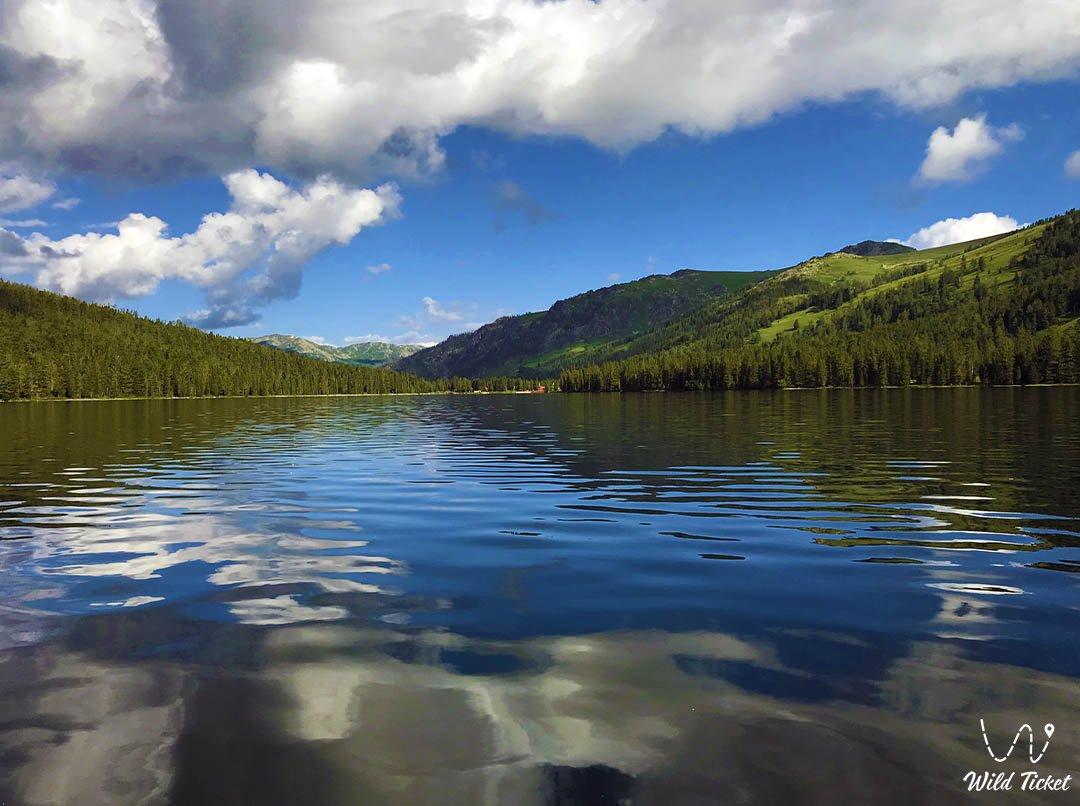Rakhmanovskoe lake.