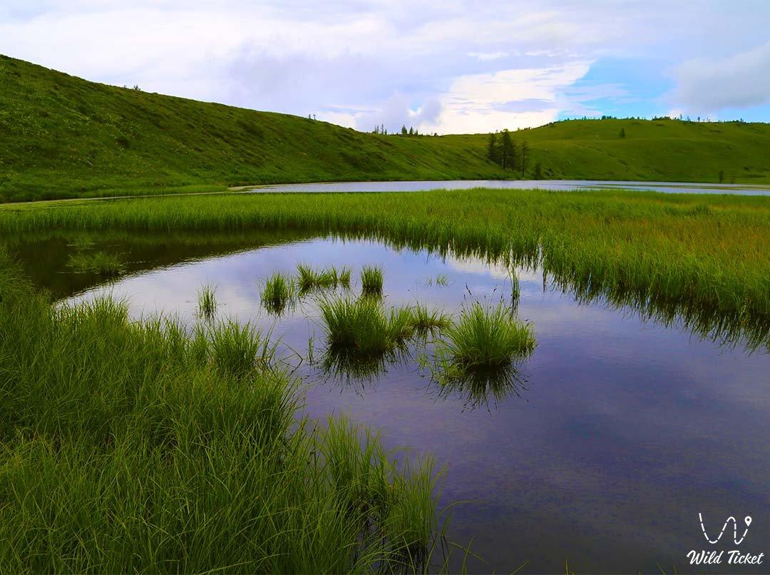 Lake Burkhat-Kol - Katon-Karagay.