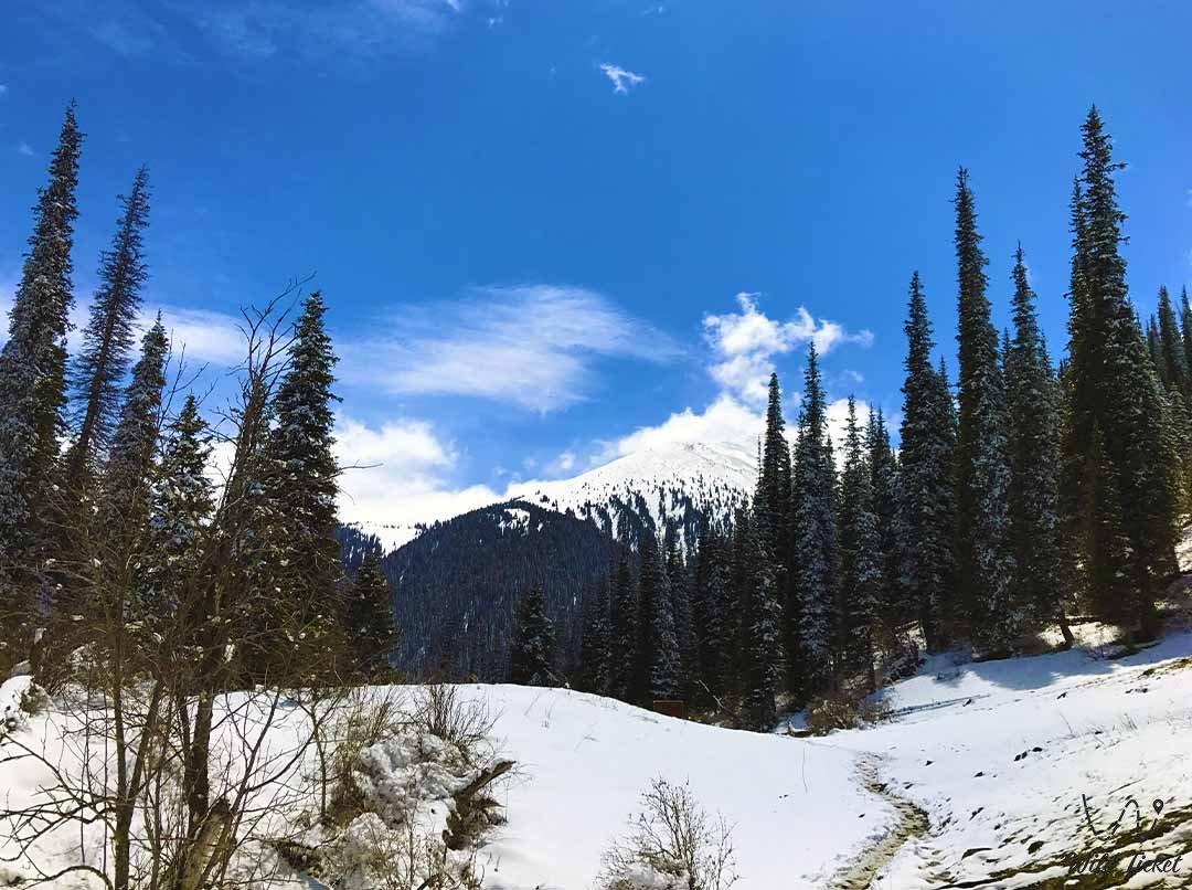 Kairakty mountain gorge.