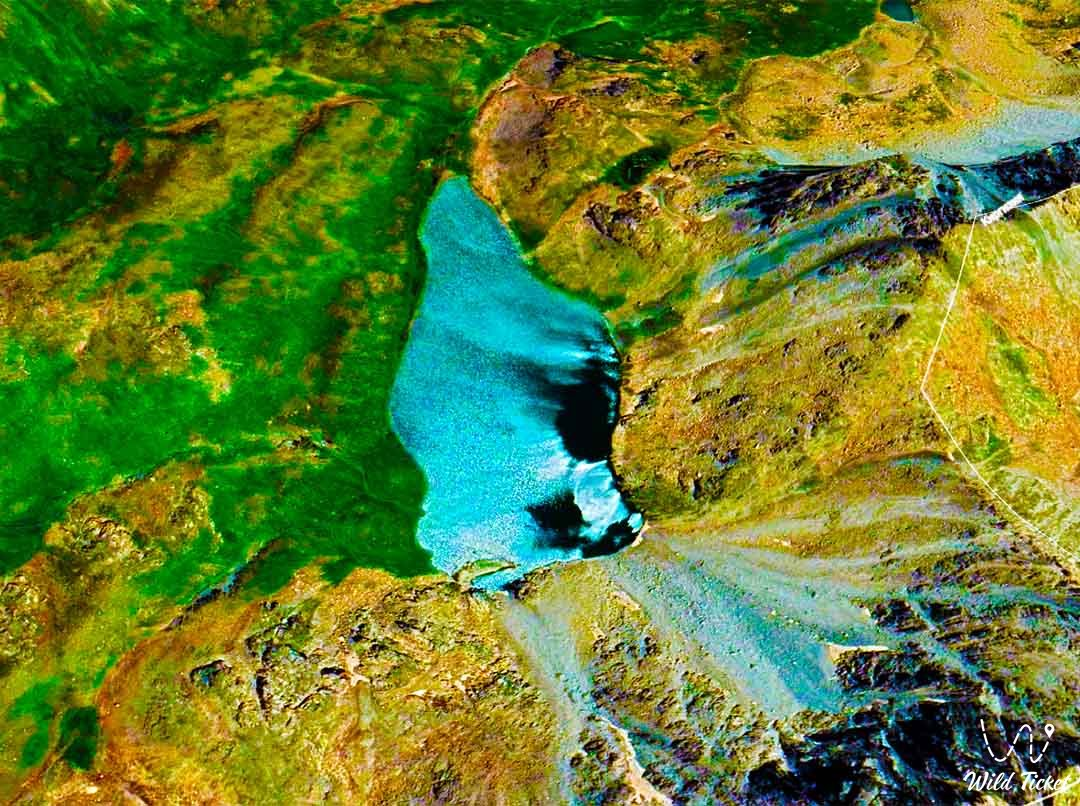 Blue lake Kaskasu.